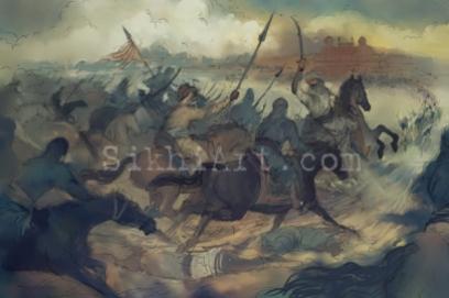 Bhai Baghel Singh by Bhagat Singh