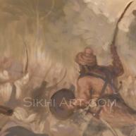 Sikh Soldiers, Baba Deep Singh