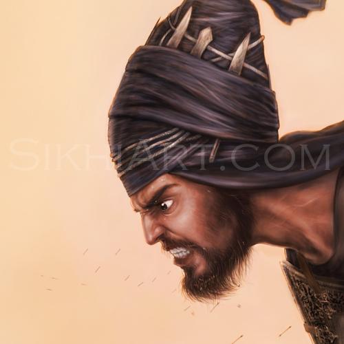 Sahibzada Ajit Singh, Battle of Chamkaur, Ajit Singh Detail