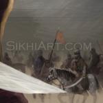 40 Mukte detail, Chali Mukte, Mai Bhago, Mata Bhag Kaur, Sikh Women
