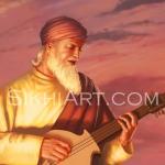 Mardana, Rebab, Muslim, Sufi, Guru Nanak, Guru Nanak Dev,