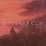 Temple Complex, Hindu Temple, Haridwar, Benares, Guru Nanak, Guru Nanak Dev, Mardana, Brahmin, Brahman, Caste System, Equality