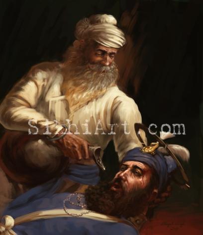 Bhai Ghanaiya, Bhai Kanhaiya, Sikhi Art Punjab, Paintings, Bhagat Singh Bedi