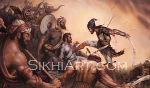 Battle of Chamkaur - Sahibzada Ajit Singh, Baba Ajit Singh, Chamkaur Di Garhi, Chamkaur Sahib