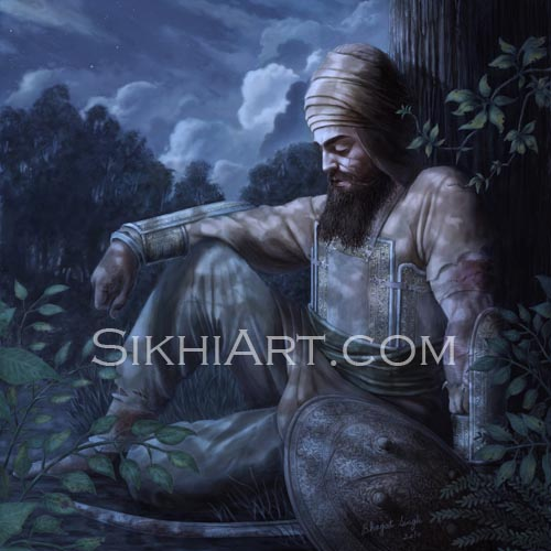 Machhiwara, Guru Gobind Singh, Battle of Chamkaur, Malwa, Punjabi, Art, Sikhi, Sikh Warriors, Bhagat Singh Bedi