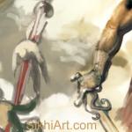 Impaled bodies