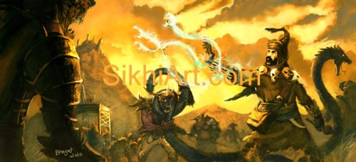 Snake Charmer and the Demons