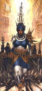 Akalini - Warrior Monk