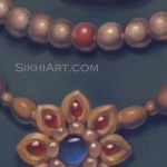 Guru Gobind Singh ji, Dashmesh Pita, Flower Necklace